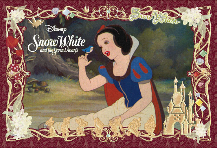 EPO-73-008 ディズニー Snow White and the Seven Dwarfs(白雪姫) 300ピース ジグソーパズル[CP-PD]