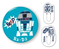 BEV-CL-019 スターウォーズ くりっぷかん SW R2-D2 雑貨