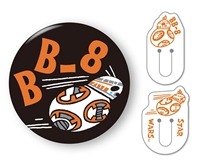 BEV-CL-020 スターウォーズ くりっぷかん SW BB-8 雑貨
