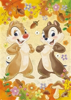 EPO-72-011 ディズニー Chip'n Dale(チップ&デール)-autumn feast- (チップ&デール) 108ピース ジグソーパズル [CP-D][CP-PD]